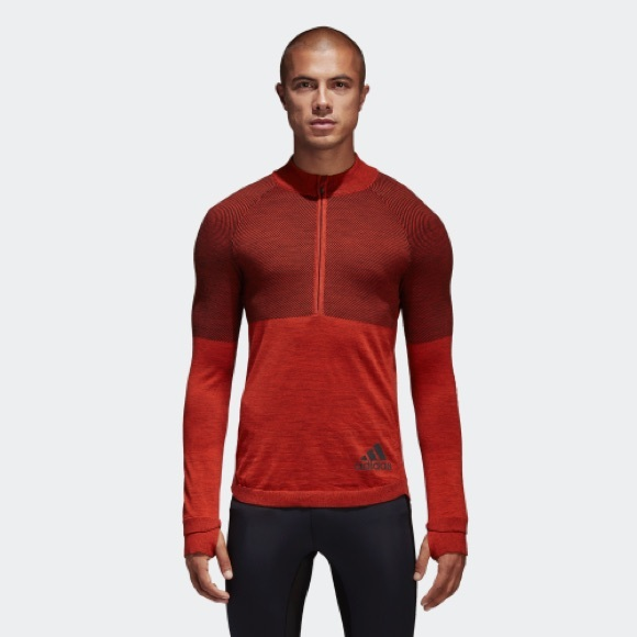 adidas Other - Adidas climaheat energy running sweater